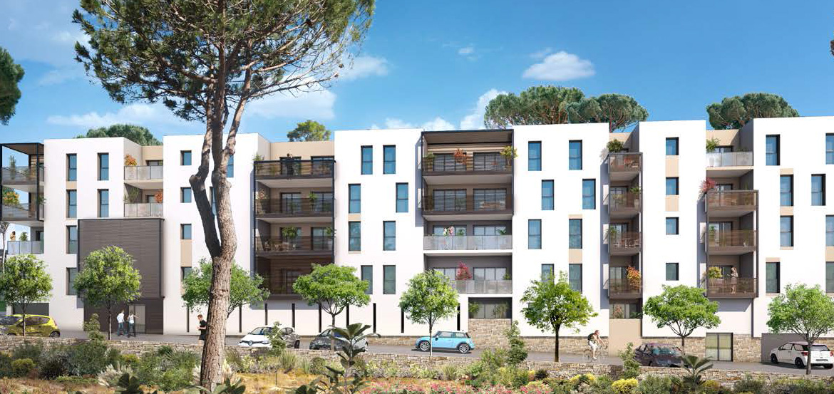 R sidence coeur d azur immobilier neuf seyne sur mer for Azur immobilier
